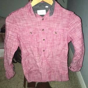 Other - Burgundy button up